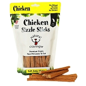 Natural Cravings Chicken Sizzle Sticks Dog Treats, 12-oz Bag