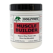 Nature's Farmacy Dogzymes Muscle Builder Dog Supplement, 2-lb