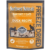 Northwest Naturals Duck Recipe Freeze-Dried Cat Food, 11-oz Bag