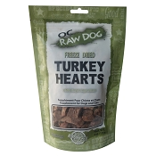 OC Raw Freeze-Dried Turkey Hearts Dog Treats, 4-oz Bag