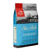 ORIJEN Six Fish Grain-Free Dry Dog Food, 25-lb Bag