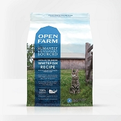 Open Farm Catch-of-the-Season Whitefish Dry Cat Food, 8-lb Bag