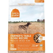 Open Farm Farmer's Table Pork Recipe Freeze Dried Raw Dog Food, 22-oz Bag