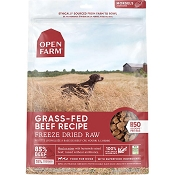 Open Farm Grass-Fed Beef Recipe Freeze Dried Raw Dog Food, 22-oz Bag