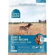 Open Farm Surf & Turf Recipe Freeze Dried Raw Dog Food, 22-oz Bag