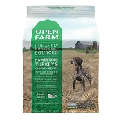 Open Farm Homestead Turkey & Chicken Dry Dog Food, 24-lb Bag