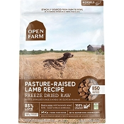 Open Farm Pasture-Raised Lamb Recipe Freeze Dried Raw Dog Food, 22-oz Bag