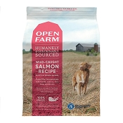 Open Farm Wild-Caught Salmon Dry Dog Food, 24-lb Bag