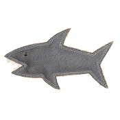 Outback Tails Shazza the Shark Natural Dog Toy