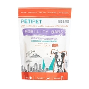 PETIPET Mobility Bars Hip & Joint Pain Relief Dog Supplement, 120 Bars
