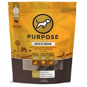 PURPOSE Duck & Veggie Freeze Dried Dog Food, 14-oz Bag