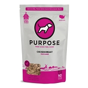 PURPOSE Freeze Dried Free Range Chicken Breast Dog Treats, 3-oz Bag