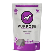 PURPOSE Freeze Dried Free Range Turkey Heart Dog Treats, 3-oz Bag