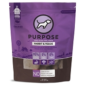PURPOSE Rabbit & Veggie Freeze Dried Dog Food, 14-oz Bag