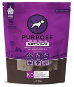 PURPOSE Turkey & Veggie Freeze Dried Dog Food, 14-oz Bag