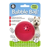 Pet Qwerks Animal Sounds Babble Ball Interactive Dog Toy, Medium
