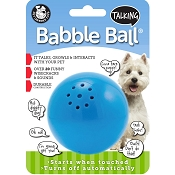 Pet Qwerks Talking Babble Ball Interactive Dog Toy, Medium