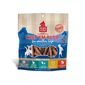Plato Keep'Em Busy Duck & Blueberry Meat Sticks Dog Treats for Smaller Toys
