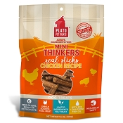 Plato Mini Thinkers Chicken Recipe Dog Treats, 6-oz Bag