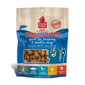 Plato Small Bites Salmon Meaty Morsel Dog Treats, 6-oz
