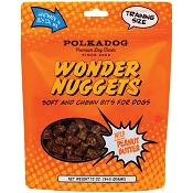 PolkaDog Wonder Nuggets Soft & Chewy Peanut Butter Dog Treats