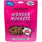 PolkaDog Wonder Nuggets Soft & Chewy Turkey & Cranberry Dog Treats