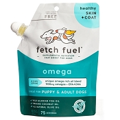 Presidio Fetch Fuel Omega Skin & Coat Supplement for Dogs