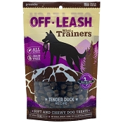 Presido Off-Leash Mini Trainers Tender Duck Recipe Dog Treats, 5-oz Bag