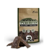 PureBites Beef Jerky USA Dog Treats, 7.5-oz Bag