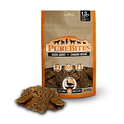 PureBites Duck Jerky USA Dog Treats, 5.5-oz Bag