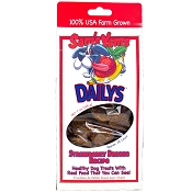 Sam's Yams Daily's Strawberry Banana Recipe Dog Treats, 7-oz Box