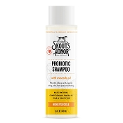 Skout's Honor Probiotic Honeysuckle Shampoo with Conditioner for Dogs & Cats, 16-oz Bottle