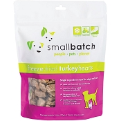 Small Batch Freeze-Dried Turkey Hearts Dog Treats, 3.5-oz Bag
