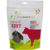 Small Batch Humanely Raised Beef Jerky Dog Treats, 4-oz Bag