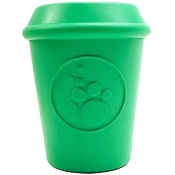 SodaPup Coffee Cup Rubber Dog Toy Made in USA