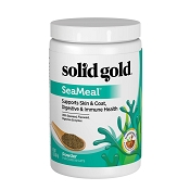 Solid Gold SeaMeal Skin & Coat, Digestive & Immune Powder Dog & Cat Supplement, 1-lb