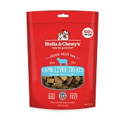 Stella & Chewy's Lamb Liver Freeze-Dried Raw Dog Treats, 3-oz bag
