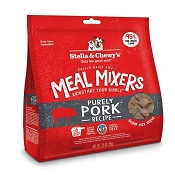 Stella & Chewy's Meal Mixers Purely Pork Freeze-Dried Raw Dog Food Topper, 3.5-oz Bag