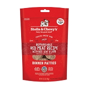 Stella & Chewy's Remarkable Red Meat Recipe Dinner Patties Freeze-Dried Raw Dog Food, 5.5-oz Bag