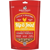 Stella & Chewy's Stella's Solutions Hip & Joint Boost Freeze-Dried Chicken Dinner Morsels Dog Food, 13-oz bag