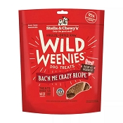Stella & Chewy's Wild Weenies Bac'n Me Crazy Freeze-Dried Raw Dog Treats, 11-oz Bag
