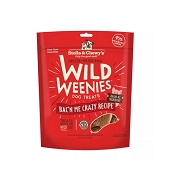 Stella & Chewy's Wild Weenies Bac'n Me Crazy Freeze-Dried Raw Dog Treats, 3-oz Bag