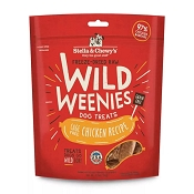 Stella & Chewy's Wild Weenies Cage-Free Chicken Freeze-Dried Raw Dog Treats, 11.5-oz Bag