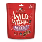 Stella & Chewy's Wild Weenies Game Bird Freeze-Dried Raw Dog Treats, 3.25-oz Bag