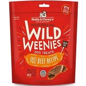 Stella & Chewy's Wild Weenies Grass-Fed Beef Freeze-Dried Raw Dog Treats, 11.5-oz Bag