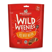 Stella & Chewy's Wild Weenies Grass-Fed Beef Freeze-Dried Raw Dog Treats, 3.25-oz Bag
