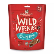 Stella & Chewy's Wild Weenies Grass-Fed Lamb Freeze-Dried Raw Dog Treats, 3.25-oz Bag