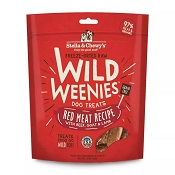 Stella & Chewy's Wild Weenies Red Meat Freeze-Dried Raw Dog Treats, 3.25-oz Bag