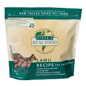 Steve's Freeze Dried Lamu Recipe Dog & Cat Food, 1.25-lb Bag