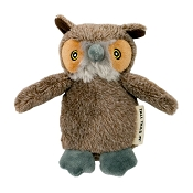 Tall Tails Baby Owl Plush Squeaker Dog Toy